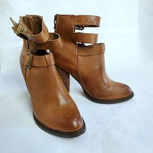 Chinese Laundry Z Gimme Gimme Brown Booties heels
